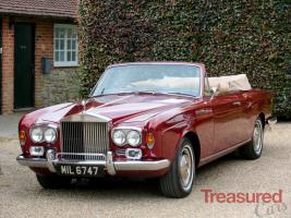 1972 Rolls-Royce Corniche Convertible Classic Cars for sale