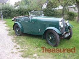 1931 Wolseley Hornet Tourer Classic Cars for sale