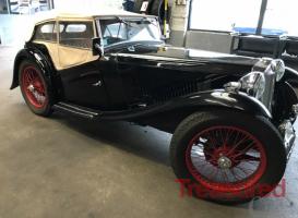1936 MG TA Classic Cars for sale