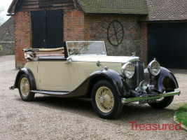 1934 Bentley 3 ½ litre Derby Bentley Convertible by Park Ward Classic Cars for sale