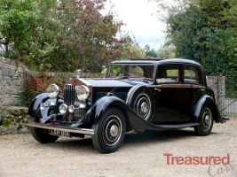 1934 Rolls-Royce 20/25 Sports Saloon by Park Ward Classic Cars for sale