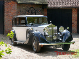 1935 Rolls-Royce 20/25 Sports Saloon By Thrupp & Maberly Classic Cars for sale