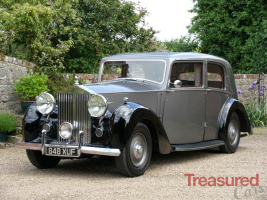 1947 Rolls-Royce Silver Wraith Formal Saloon by Barker Classic Cars for sale