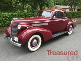 1937 Buick Straight  Eight  Opera Coupe Classic Cars for sale