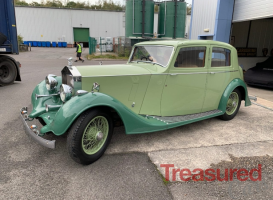 1937 Rolls-Royce 25/30 Classic Cars for sale