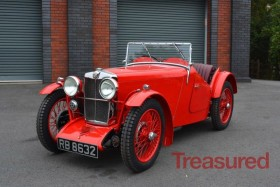 1933 MG J2 Classic Cars for sale