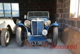 1938 MG TA Classic Cars for sale