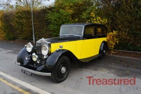 1932 Rolls-Royce 25/30 Park Ward Limousine Classic Cars for sale