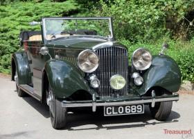 1936 Bentley 3 1/2 Litre Carlton Four Door Allweather Tourer Classic Cars for sale