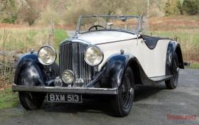 1935 Bentley 3 1/2 litre Cutaway Door VDP Style Tourer Classic Cars for sale