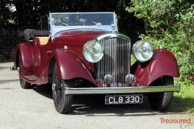 1935 Bentley 3 1/2 Litre VDP Style Tourer Classic Cars for sale