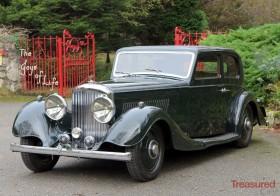 1937 Bentley 4 1/4 Litre Kellner Pillarless Sports Saloon Classic Cars for sale