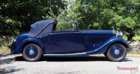1935 Rolls-Royce 20/25 Thrupp and Maberly 3pos Drophead Coupe Classic Cars for sale