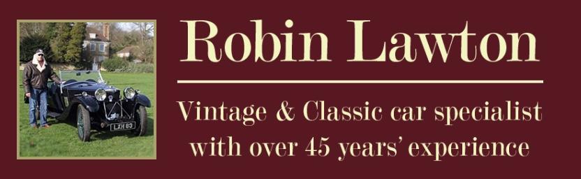 Robin Lawton Vintage & Classic Cars