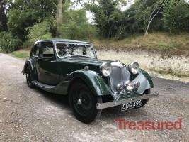 1938 Riley 12/4 Six-Light Kestrel Classic Cars for sale