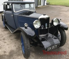 1931 Riley Alpine 14/6 Fabric Saloon Classic Cars for sale