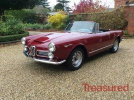 1966 Alfa Romeo 2600 Classic Cars for sale