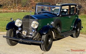 1933 Rolls-Royce 20/25 Salmons 'Tickford' Cabriolet Classic Cars for sale