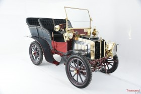 1903 Darracq 12hp Twin-Cylinder Swing-Seat Tonneau Classic Cars for sale