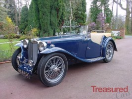 1937 MG TA Classic Cars for sale