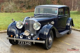 1939 Bentley 4 1/4 Overdrive Hooper Sports Saloon Classic Cars for sale