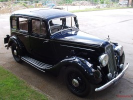 1937 Humber 12 Saloon Classic Cars for sale