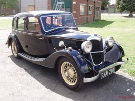 1937 Riley 12/4 Adelphi Classic Cars for sale