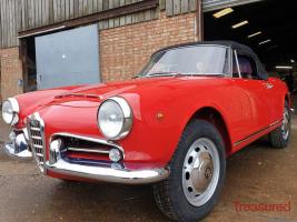 1966 Alfa Romeo Spider Classic Cars for sale