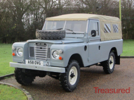 1983 Land Rover 109 Series III Classic Cars for sale