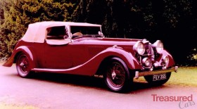 1937 Alvis Continental Tourer Classic Cars for sale