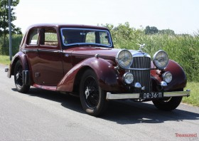 1939 Alvis Speed 25 Charlesworth Saloon Classic Cars for sale