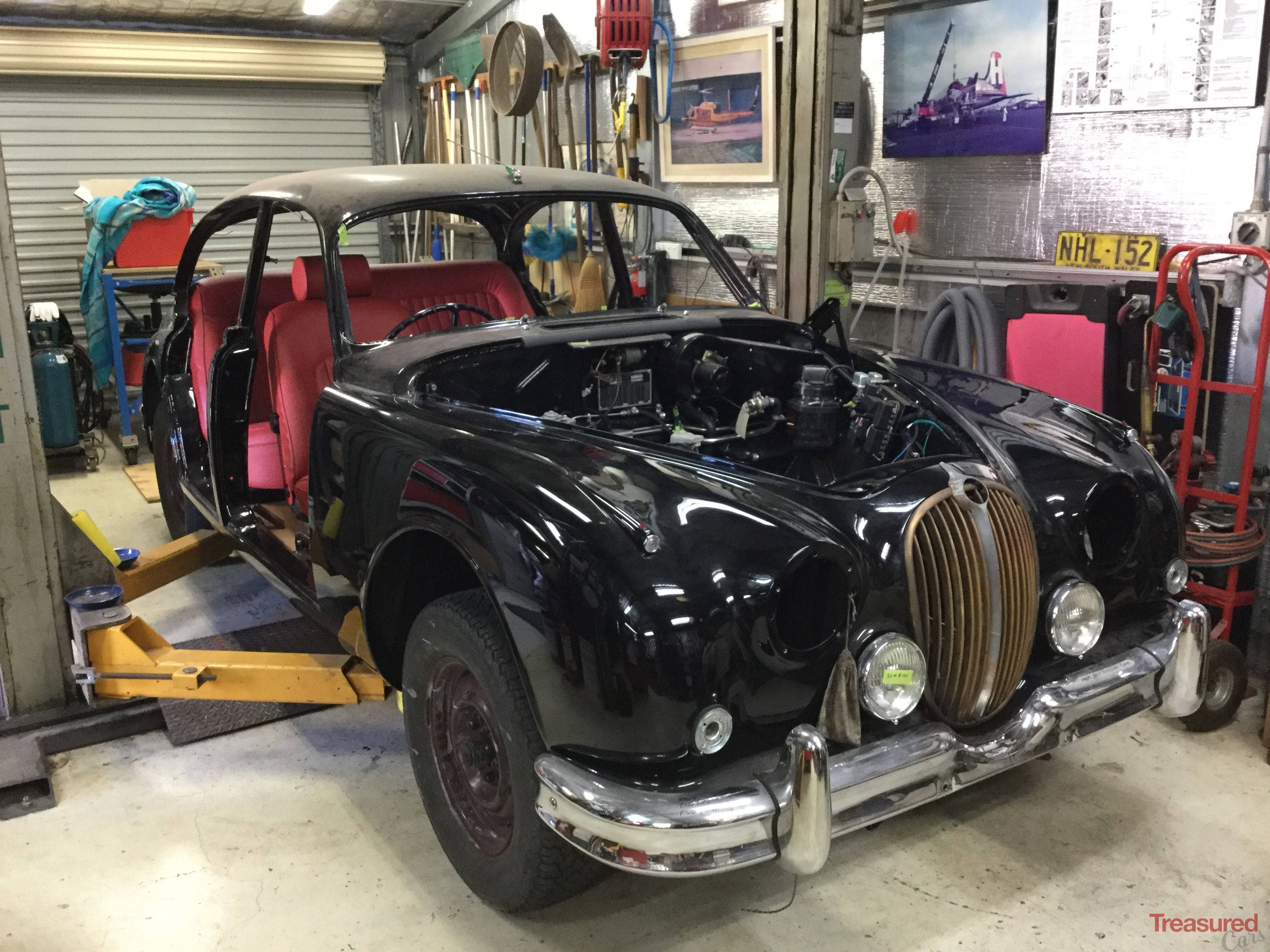 1964 Jaguar Mk Ii 2 4 Classic Cars For Sale Treasured Cars