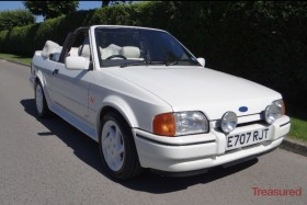 1988 Ford XR3i Convertable Classic Cars for sale
