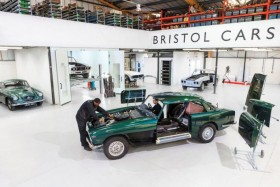 The British manufacturer Bristol Cars goes into liquidation