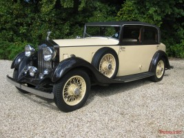 1933 Rolls-Royce 20/25 Park Ward Saloon Classic Cars for sale