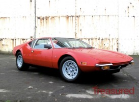 1971 De Tomaso Pantera Classic Cars for sale