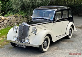 1947 Wolseley 14/60 Six Light Saloon with Sunroof Classic Cars for sale
