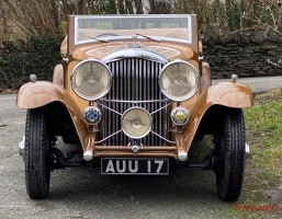 1933 Bentley 3½ Litre Barker Sporting Two Door Drophead Coupe Classic Cars for sale