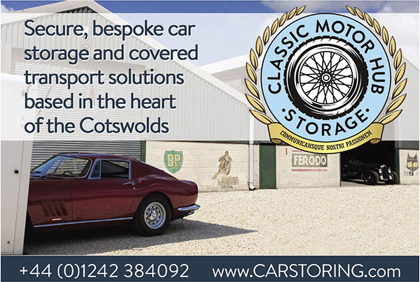 Classic Motor Hub Storage - Secure, bespoke car storage and covered transport solutions based in the heart of the Cotswolds
