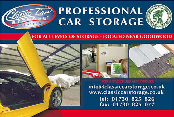 Professional Car Storage