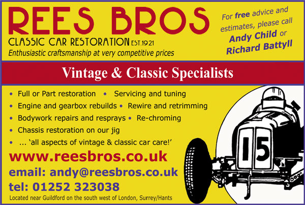 Rees Bros Restorations Ltd