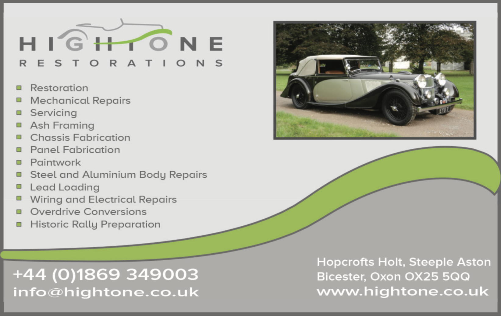 classic and vintage car restoration