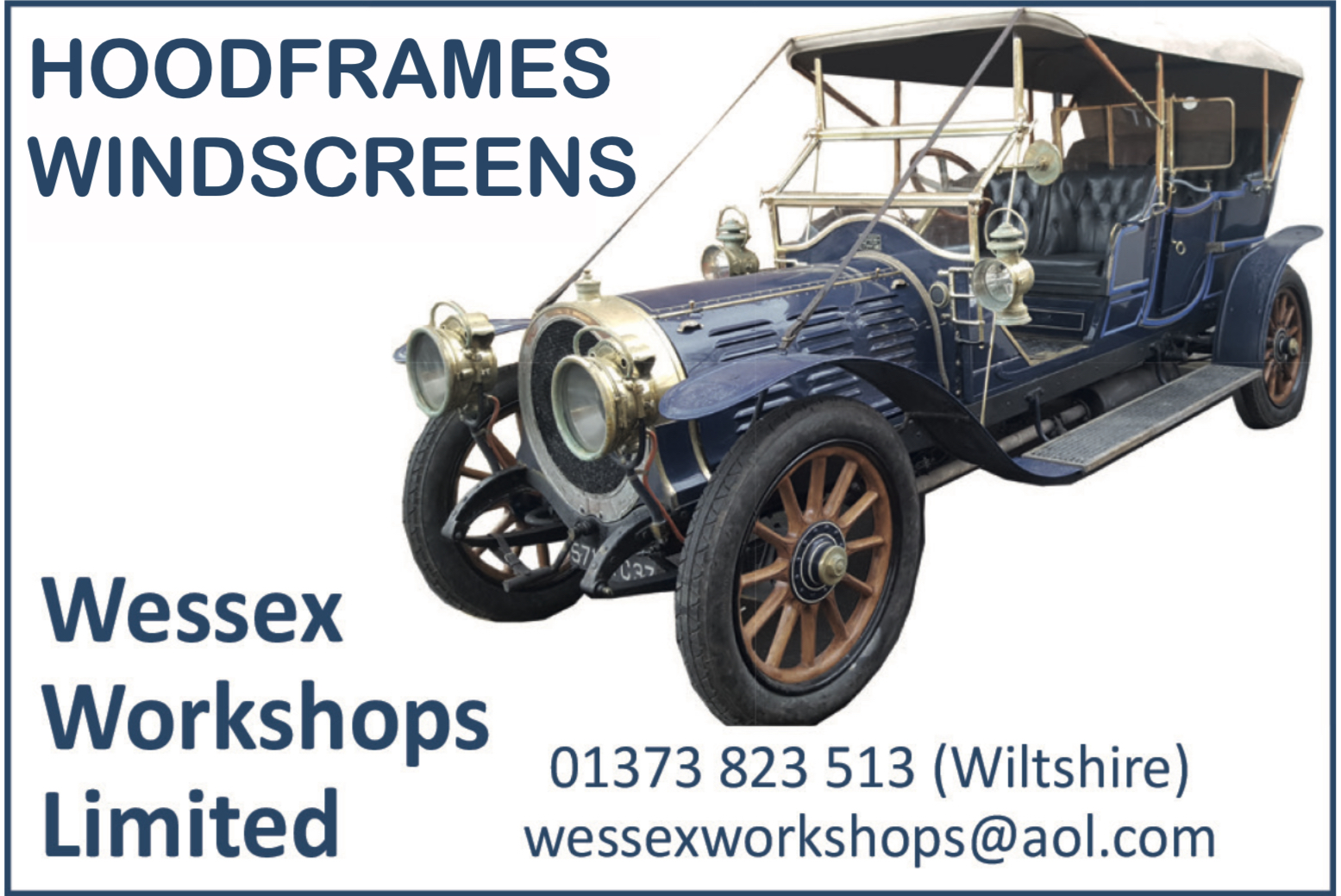 Hoods frames and windscreens