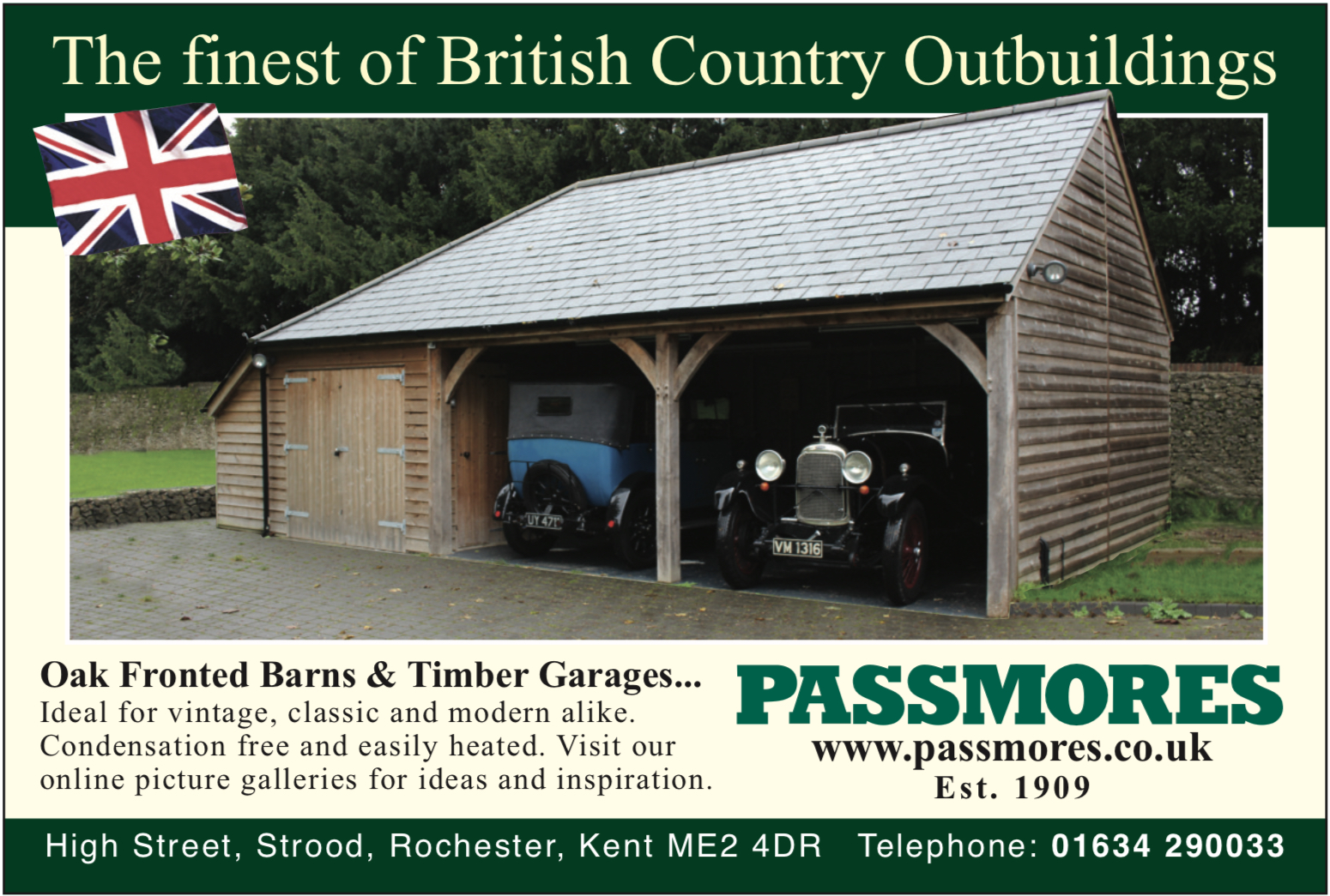 Timber Garages, Carriage Houses, Pavilions and Sheds
