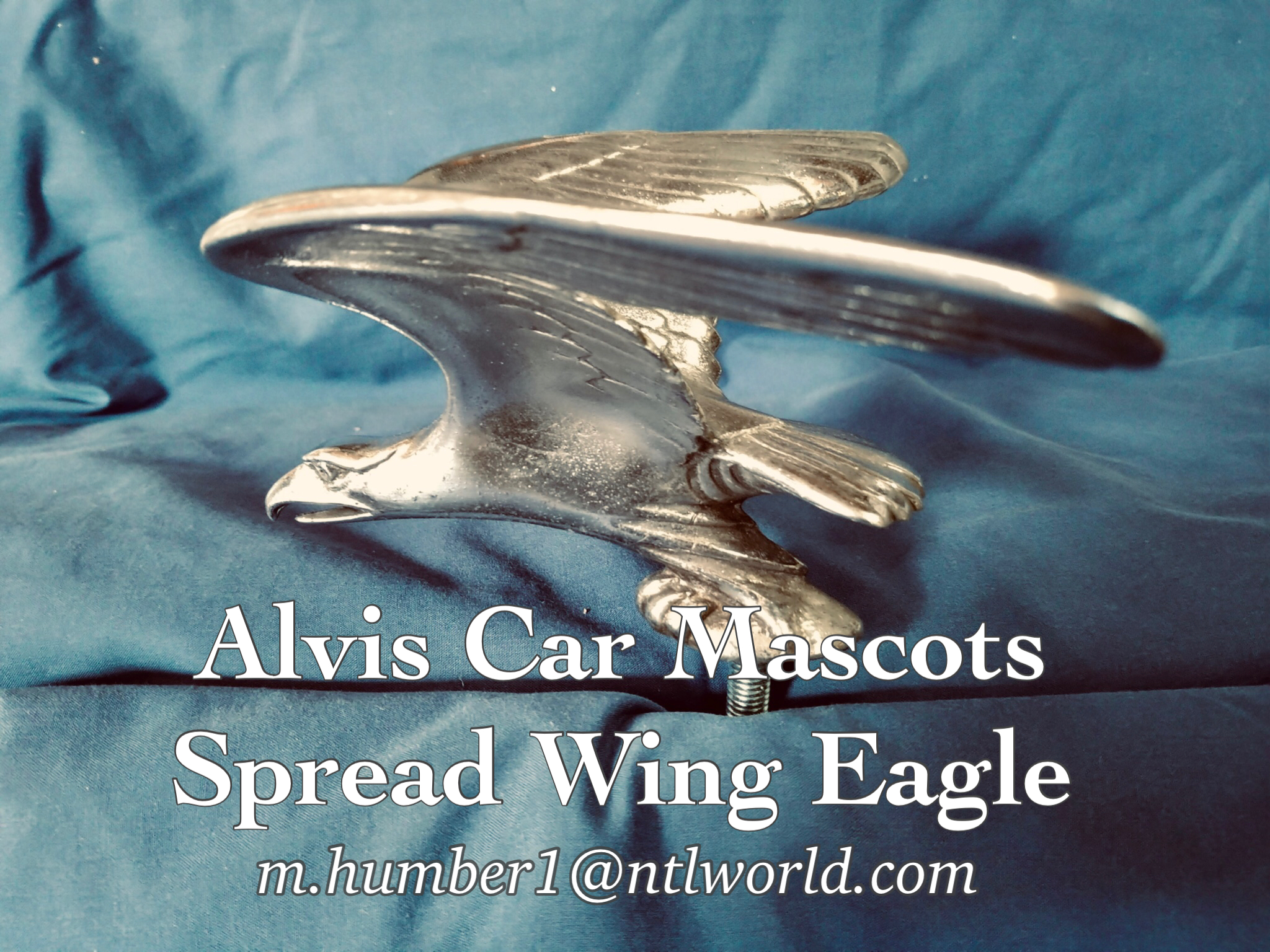Alvis Speed Eagle Mascot