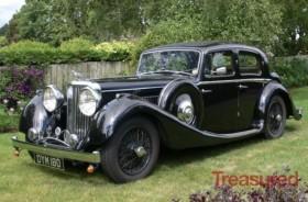 1937 SS JAGUAR 2.5 L Sports Salon Classic Cars for sale