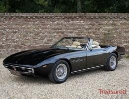 1971 Maserati Ghibli Spyder Classic Cars for sale