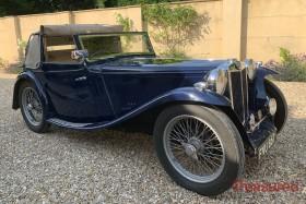 1939 MG TA Tickford Drophead Classic Cars for sale