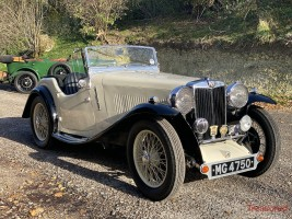 1936 MG NB MAGNETTE CRESTA Classic Cars for sale