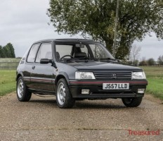 1991 Peugeot 205 1.9 GTi Classic Cars for sale
